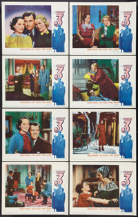 "These Three (Samuel Goldwyn, R-1954). Lobby Card Set of 8 (11"" X 14""). Drama. ... (Total: 8 Items)"