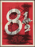 "Movie Posters:Drama, 8½ (Columbia, 1963). French Affiche (23.5"" X 31.5""). Drama.. ..."