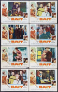 "Movie Posters:Bad Girl, Bait (Columbia, 1954). Lobby Cards (8) (11"" X 14""). Bad Girl.. ...(Total: 8 Items)"