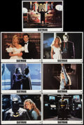 "Movie Posters:Action, Batman (Warner Brothers, 1989). Lobby Cards (7) (11"" X 14"").Action.. ... (Total: 7 Items)"