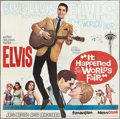 "Movie Posters:Elvis Presley, It Happened at the World's Fair (MGM, 1963). Six Sheet (81"" X 81"").Elvis Presley.. ..."