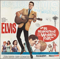 "It Happened at the World's Fair (MGM, 1963). Six Sheet (81"" X 81""). Elvis Presley"