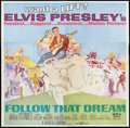 "Movie Posters:Elvis Presley, Follow That Dream (United Artists, 1962). Six Sheet (81"" X 81""). Elvis Presley.. ..."