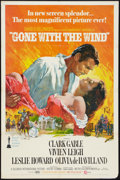 "Movie Posters:Academy Award Winners, Gone with the Wind (MGM, R-1968). One Sheet (27"" X 41""). Academy Award Winners.. ..."