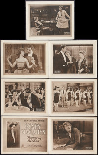 "Rouge and Riches (Universal, 1920). Title Lobby Card and Lobby Cards (6)(11"" X 14""). Drama. ... (Total: 7 Item..."