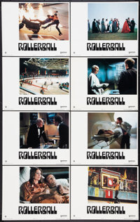 "Rollerball (United Artists, 1975). Lobby Card Set of 8 (11"" X 14""). Science Fiction. ... (Total: 8 Items)"