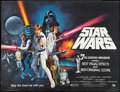 """Movie Posters:Science Fiction, Star Wars (20th Century Fox, 1977). British Quad (30"""" X 40"""") Academy Award Style C. Science Fiction.. ..."""
