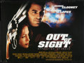 "Movie Posters:Crime, Out of Sight (Universal, 1998). British Quad (30"" X 40"") DS. Crime.. ..."