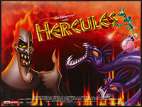 "Hercules Lot (Buena Vista, 1997). British Quads (2) (30"" X 40"") DS and One Sheet (27"" X 40""). Animat..."