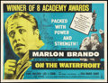 "Movie Posters:Drama, On the Waterfront (Columbia, 1955). British Quad (30"" X 40"") Academy Awards Style. Drama.. ..."