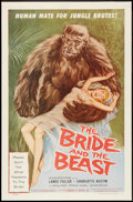 """Movie Posters:Horror, The Bride and the Beast (Allied Artists, 1958). One Sheet (27"""" X 41""""). Horror.. ..."""