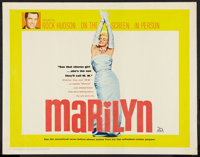 "Marilyn (20th Century Fox, 1963). Half Sheet (22"" X 28""). Documentary"