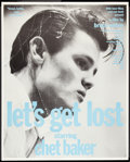 """Movie Posters:Documentary, Let's Get Lost (Zeitgeist, 1988). Poster (37"""" X 46""""). Documentary.. ..."""