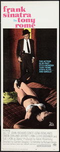 """Movie Posters:Thriller, Tony Rome Lot (20th Century Fox, 1967). Insert (14"""" X 36"""") and Half Sheet (22"""" X 28""""). Thriller.. ... (Total: 2 Items)"""