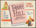 "Movie Posters:Bad Girl, Fanny Hill Lot (Famous Players Corp., 1965). Half Sheets (2) (22"" X28""). Bad Girl.. ... (Total: 2 Items)"