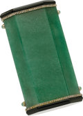 Estate Jewelry:Boxes, Art Deco Diamond, Black Onyx, Aventurine, Platinum Cigarette Case....