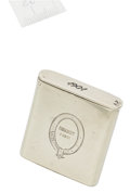 Luxury Accessories:Home, Hermes Sterling Silver 1901 Matchbox. ...