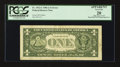 Error Notes:Miscellaneous Errors, Back Plate 129 Engraving Error Fr. 1912-C $1 1981A Federal Reserve Note. PCGS Apparent Very Fine 20.. ...