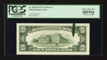Error Notes:Ink Smears, Fr. 2024-B $10 1977A Federal Reserve Note. PCGS Choice About New58PPQ.. ...