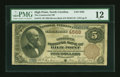 National Bank Notes:North Carolina, High Point, NC - $5 1882 Brown Back Fr. 472 The Commercial NB Ch. # 4568. ...