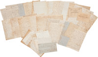 Edward A. Wild and Walter Wild Archive of Letters Including Content Regarding Their Service as Officer's in Wild's Afric...