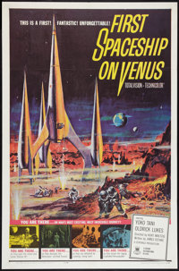 "First Spaceship on Venus (Crown International, 1962). One Sheet (27"" X 41""). Science Fiction"