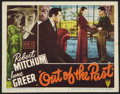 "Movie Posters:Film Noir, Out of the Past (RKO, 1947). Lobby Card (11"" X 14""). Film Noir.. ..."