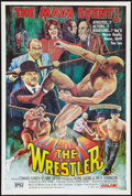 """Movie Posters:Action, The Wrestler (EVI, 1974). One Sheet (28"""" X 42""""). Action.. ..."""