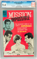 Silver Age (1956-1969):Adventure, Mission: Impossible #1 File Copy (Dell, 1967) CGC NM 9.4 Off-white pages....