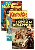 Golden Age (1938-1955):Miscellaneous, Four Color Group (Dell, 1953-57) Condition: Average VF+.... (Total: 9 Comic Books)