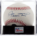 Baseball Collectibles:Balls, Willie Mays Single Signed Baseball, PSA Gem Mint 10. ...