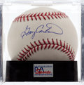 Baseball Collectibles:Balls, Gary Carter Single Signed Baseball, PSA Mint+ 9.5. ...
