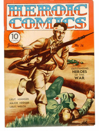 Heroic Comics #16 (Eastern Color, 1943) Condition: VF