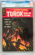 Silver Age (1956-1969):Adventure, Turok, Son of Stone Giant #1 File Copy (Gold Key, 1966) CGC NM- 9.2 Off-white to white pages....