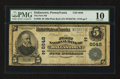 National Bank Notes:Pennsylvania, Dallastown, PA - $5 1902 Plain Back Fr. 598 The First NB Ch. #(E)6648. ...