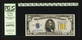Small Size:World War II Emergency Notes, Fr. 2307 $5 1934A North Africa Silver Certificate. PCGS Very Choice New 64PPQ.. ...