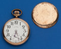 Timepieces:Pocket (post 1900), Illinois 16 Size, 21 Jewel Abe Lincoln. ...
