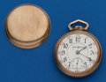 Timepieces:Pocket (post 1900), Illinois 18 Size, 21 Jewel Bunn Special. ...