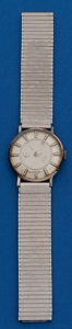 Timepieces:Wristwatch, LeCoultre/Vacheron Constantin 14k White Gold Mystery Dial forRestoration. ...