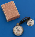 Timepieces:Pocket (post 1900), Ingersoll Mickey Pocket Watch With Original Fob & Box. ...