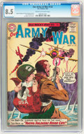 Silver Age (1956-1969):War, Our Army at War #132 (DC, 1963) CGC VF+ 8.5 Cream to off-white pages....