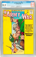 Silver Age (1956-1969):War, Our Army at War #135 (DC, 1963) CGC VF+ 8.5 Cream to off-white pages....