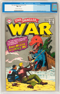 Star Spangled War Stories #135 (DC, 1967) CGC NM- 9.2 Off-white to white pages
