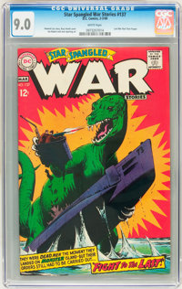 Star Spangled War Stories #137 (DC, 1968) CGC VF/NM 9.0 White pages