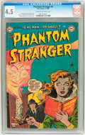 Golden Age (1938-1955):Horror, The Phantom Stranger #4 (DC, 1953) CGC VG+ 4.5 Cream to off-whitepages....