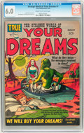Golden Age (1938-1955):Science Fiction, Strange World of Your Dreams #1 (Prize, 1952) CGC FN 6.0 Cream tooff-white pages....
