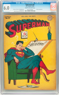 Superman #41 (DC, 1946) CGC FN 6.0 Cream to off-white pages