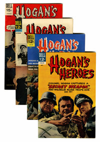 Hogan's Heroes #6-9 File Copies Group (Dell, 1967-69) Condition: Average VF+.... (Total: 4 Comic Books)