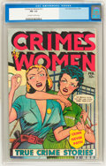 Golden Age (1938-1955):Crime, Crimes by Women #11 (Fox Features Syndicate, 1950) CGC FN+ 6.5 Off-white to white pages....
