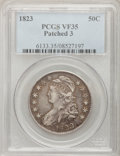 Bust Half Dollars: , 1823 50C Patched 3 VF35 PCGS, O-102, R.4. PCGS Population (4/51).NGC Census: (1/12). Numismedia Wsl. Price for problem fr...